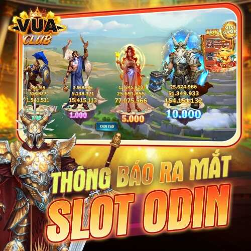 Vua Club [Event] GiFTCODE mừng game mới Odin